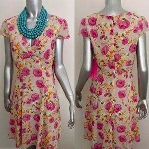 NWT Betsey Johnson Floral Dress